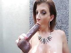 Big tit milf solo