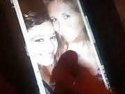great cock tribute for two sexy ladies, nice huge tits!