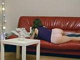 Girl farting