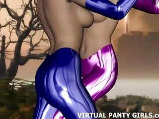 Hentai Stripper Virtual video: I am your personal virtual stripper