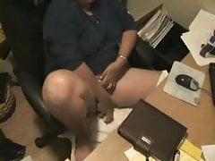 Hot ! Watch my mom caught masturbating by hidden cam