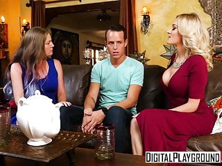 Cumshots Amateur Blondes video: DigitalPlayground - My Moms Best Frien