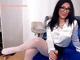 WM 530 Milf white Nylons Feet & Heels