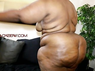 Amateur Bbw Big Butts video: THICK SEXY EBONY BBW!!!