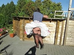 Windy upskirts part 32