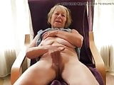 Rub that pussy Granny