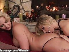 Julia Ann and Big Ass MILF Eat Wet Pussy