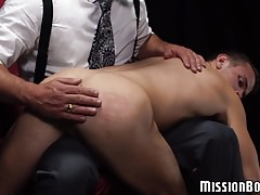 Hot and excited twink loves being slap before dildo play | Porn-Update.com