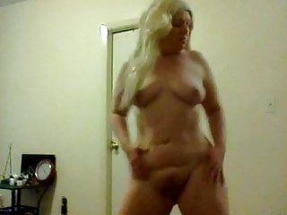 American Big Natural Tits video: Big booty sexy blonde in pink k corset