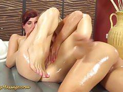 massaggio lesbo sdolcinato