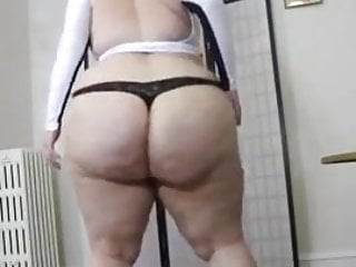 Bbw Blonde Milf video: bbw dancing
