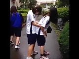 Japan Standing Back Girls