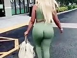 Big black ass walking