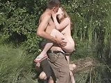 Amateur - Forest Cuckold with Cum LickUp