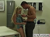 blonde teen Jesse Jane wants her doctors cock