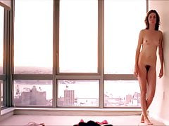 Julianne Nicholson nuda in pigiama di flanella