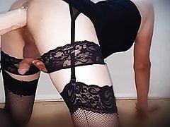 Crossdresser dildo ride | Porn-Update.com