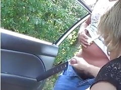 Peeping pila - Dogging handjob
