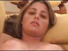 Sister sucks and masturbates
