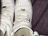 Cum in my Nike Air Force 1
