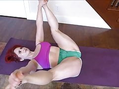 MILF Yoga Hip Stretch