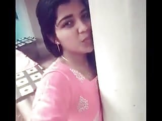 Malayali Girl Selfie Video To Lover