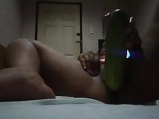 Asian Sex Toy Girl Masturbating video: FAT THICK CUCUMBER  2