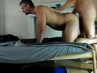 .Tall daddy gets fucked.
