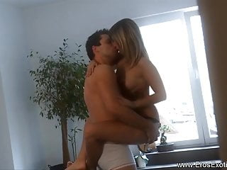 Playful Blonde Lover Loves Her Man