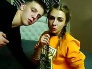 Very Cute Girlfriend Sex and Creampie Webcam
