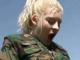 Brit Army Lesbians Pee Break
