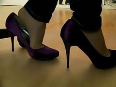 candido shoeplay collant HUT sotto le pompe da tavolo