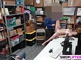 Cutie Geneva Takes Wiener For Shoplifting