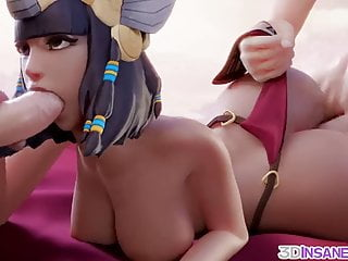 Cartoon Hd Videos video: Overwatch babes fucked by big cocks