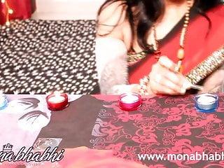 印度mona bhabhi慶祝排燈節