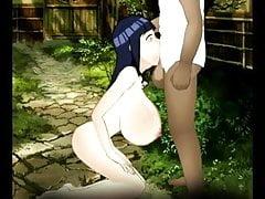 SDT Énormes Seins - Hinata Hyuga (Naruto)