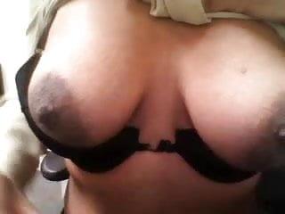 Humiliated Black slut shows her huge nipples