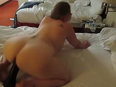 Horny Chubby PAWG Anita Monter Un Gode Bbc