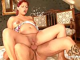Pregnant redhead beauty loves to get fucked passionately.mp4