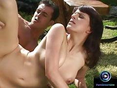 Fantastický ranní sex s Leou Farlonovou na balkoně