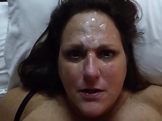 Amateur Facials Drenched video: cum drenched milf