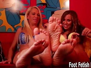 Stockings Bdsm porno: Cum on my feet when I count to zero
