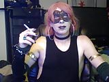 Hot Dancing Goth CD Cam Show (part 2 of 2)