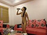 thai girl show her holes