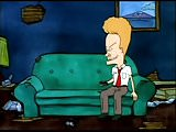 Beavis Home Alone with TV