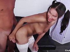 Masturbazione con la sexy latina