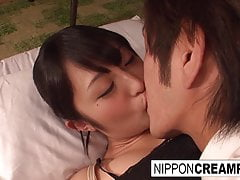 Japanese Office Biotch Gets Her Hairy Muff Toyed And Fucked