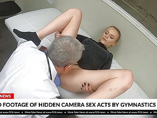 Blonde Blowjob Pussy video: FCK News - Blonde Teen Gymnast Fucked By Her Doctor