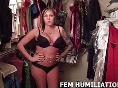 Wybrałem seksowny strój maminsynkowej dziewczyny, który musisz założyć