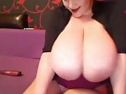 Giant webcam boobs